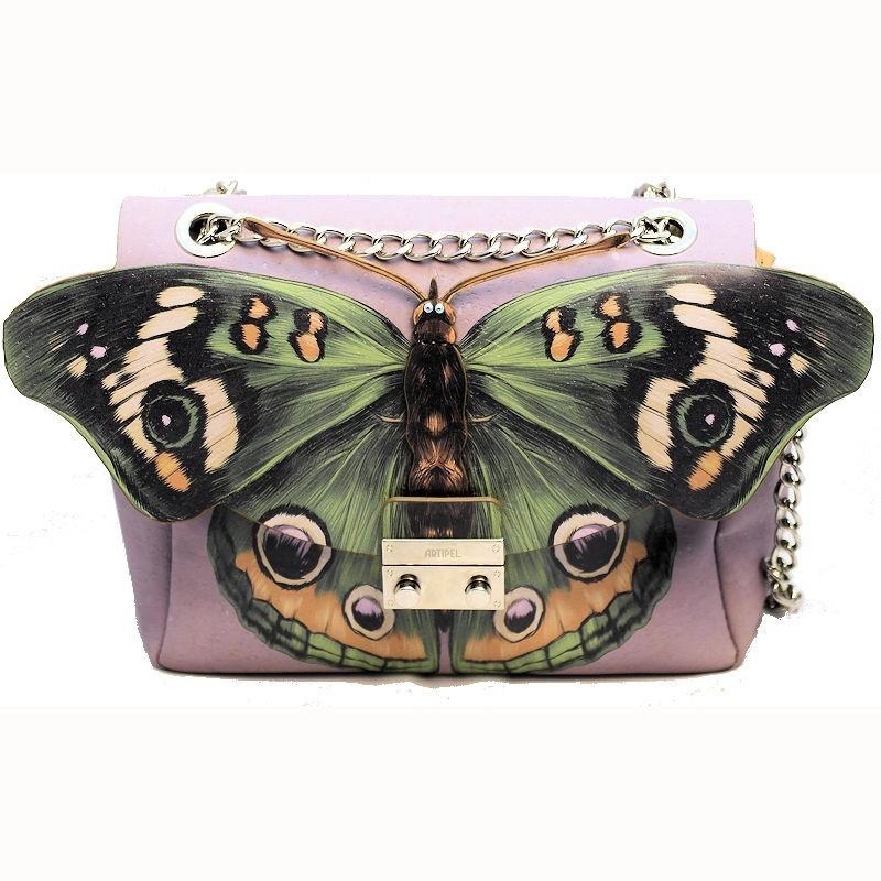 Sac besace en liège Papillon